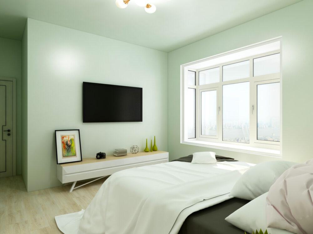 How High to Mount TV in Bedroom