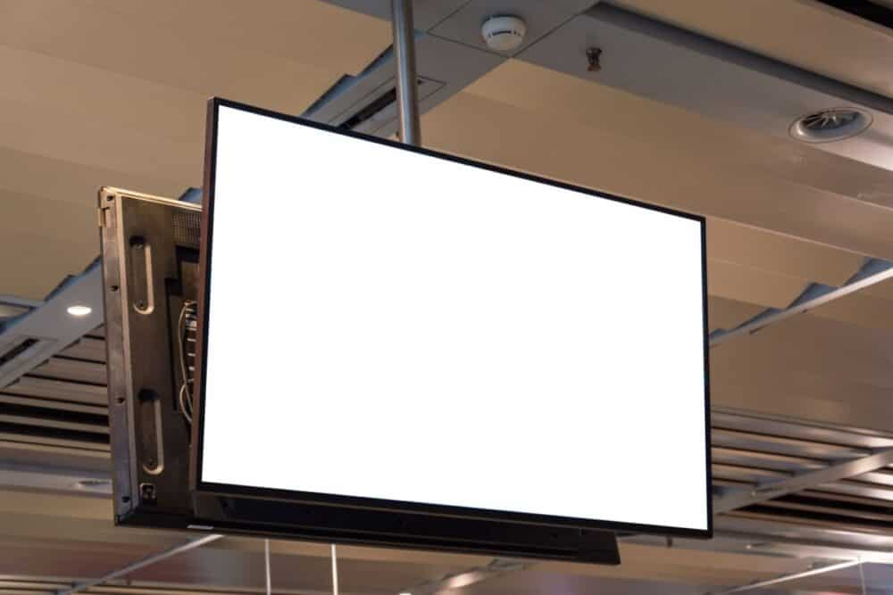 How To Hang TV From A Ceiling