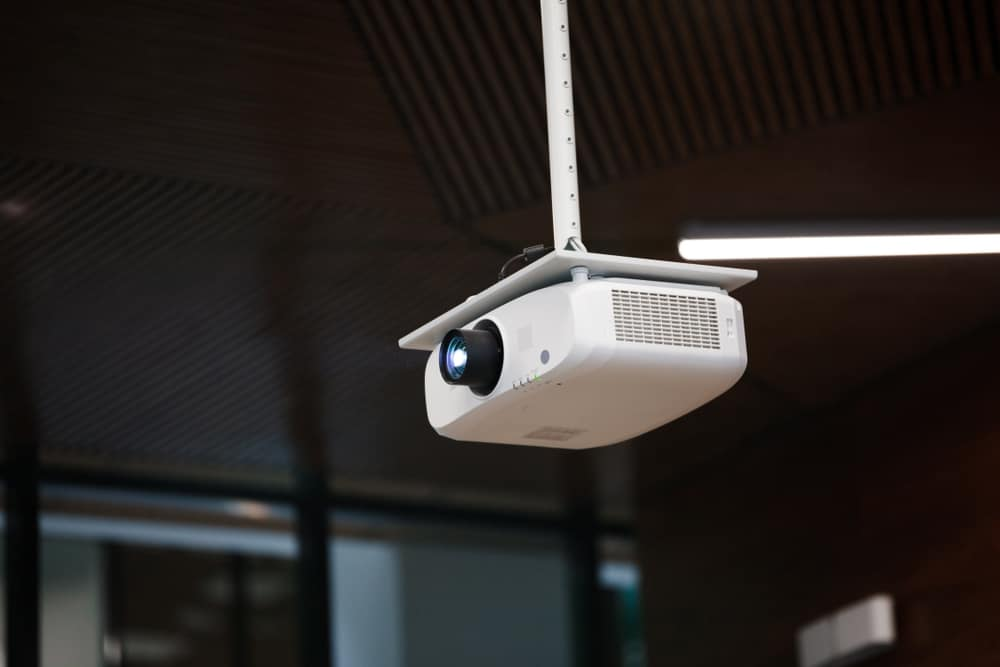 How to Ceiling Mount Projector