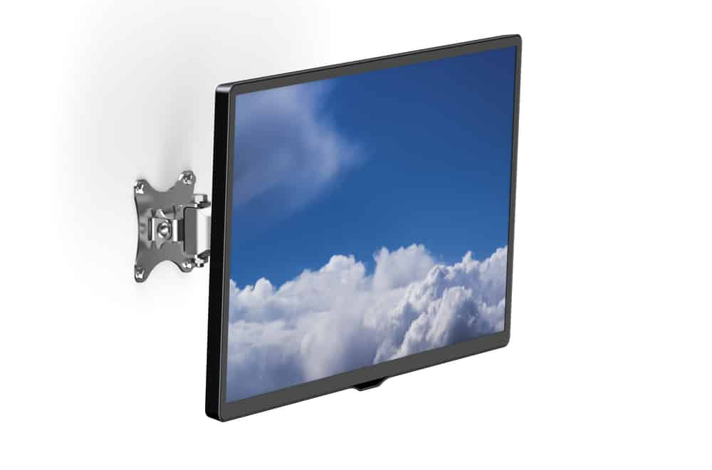 How to mount a monitor without holes